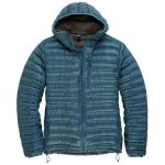 Ems Mens Icarus Hooded Down Jacket – Mountain View – Blue
