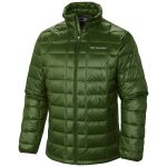 Columbia Mens Trask Mountain 650 Turbodown Jacket – Green