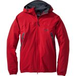 Outdoor Research Men's Allout Hooded Jacket – Red