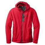 Outdoor Research Men's Deviator Hoodie – Red