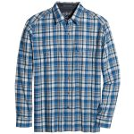 Kuhl Mens Response Long-Sleeve Shirt – Blue – Size L