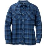 Outdoor Research Men's Feedback Flannel Shirt – Blue – Size M