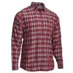 Ems Mens Journey Long Sleeve Plaid Shirt  – Size S