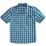 Ems Men's Lake George Short-Sleeve Shirt – Blue – Size M