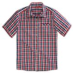 Ems Men's Lake George Short-Sleeve Shirt – Red – Size M