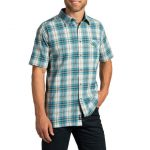 Kuhl Men's Stallion Short-Sleeve Shirt  – Blue – Size S
