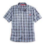 Ems Men's Ranger Short-Sleeve Plaid Shirt – Black – Size S