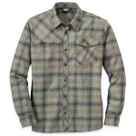 Outdoor Research Men's Tangent Shirt – Brown – Size L