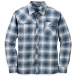 Outdoor Research Men's Tangent Shirt – Blue – Size L