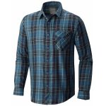 Mountain Hardwear Mens Franklin Long-Sleeve Shirt – Black – Size XL