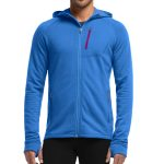 Icebreaker Men's Quantum Plus Zip Hoodie – Blue – Size XL