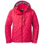 Outdoor Research Women's Igneo Jacket – Red