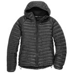 Ems Womens Icarus Hooded Down Jacket – Gloxina – Black