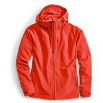 Ems Womens Epic Soft Shell Jacket  – Red