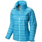 Mountain Hardwear Women's Plasmic Ion Printed Jacket – Blue