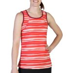 Exofficio Women's Techspressa Stripe Tank  – Orange – Size XL