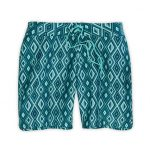 Ems Women's Board Shorts, 7 In.  – Green – Size 6