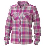 Marmot Womens Evelyn Long Sleeve Shirt – Red – Size M