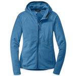 Outdoor Research Women's Soleil Hoodie – Blue – Size L