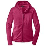 Outdoor Research Women's Soleil Hoodie – Red – Size L