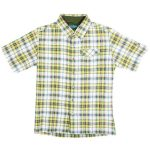 Kuhl Boys' Stallion Short-Sleeve Shirt  – Green – Size M