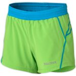 Marmot Girls' Mobility Shorts – Green – Size XS