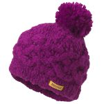 Marmot Girls Chunky Pom Hat – Purple