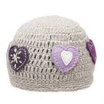 Ambler Girls Heart Toque Hat – Black