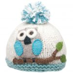 Ambler Apparel Girls Owl Hat – Blue