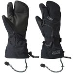 Outdoor Research Men's Highcamp 3-Finger Gloves – Black