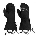 Outdoor Research Mt. Baker Shell Mitts – Black