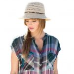 Pistil Womens Jennah Sun Hat – Brown