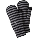 Smartwool Women's Striped Knit Mitts – Black