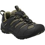 Keen Boys' Koven Low Wp Hiking Shoes, Black/burnt Olive – Black