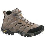 Merrell Men's Moab Mid Gtx Hiking Boots, Wide – Brown