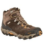 Oboz Men's Bridger Bdry Hiking Boots, Wide – Brown