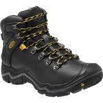 Keen Mens Liberty Ridge Waterproof Hiking Boots – Black