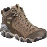Oboz Men's Sawtooth Mid Bdry Hiking Boots – Brown