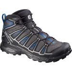 Salomon Mens X Ultra Mid Aero Hiking Shoes – Black