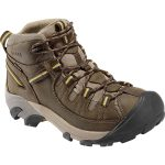 Keen Mens Targhee Ii Wp Hiking Boots, Black Olive/yellow, Wide – Brown