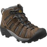 Keen Men's Voyageur Mid Hiking Boots, Cascade Brown/raven – Brown