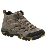 Merrell Men's Moab Ventilator Mid Hiking Boots – Brown