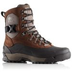 Sorel Mens Paxson Waterproof Boots, Tall – Brown