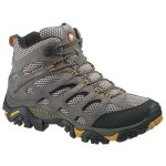 Merrell Men's Moab Ventilator Mid Boots, Wide – Brown