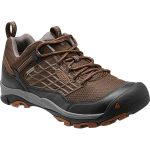 Keen Mens Saltzman Waterproof Trail Shoes – Brown