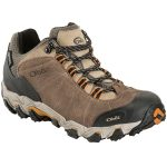 Oboz Mens Bridger Low Bdry Hiking Shoes, Walnut – Brown