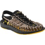 Keen Men's Uneek Flat Cord Sandals, Yellow/camo – Yellow
