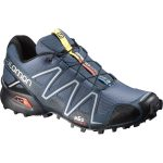 Salomon Men's Speedcross 3 Trail Running Shoes, Slate Blue/black/deep Blue – Blue