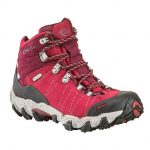 Oboz Women's Bridger Bdry Hiking Boots, Rio Red – Red