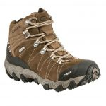 Oboz Women's Bridger Bdry Hiking Boots, Walnut – Brown